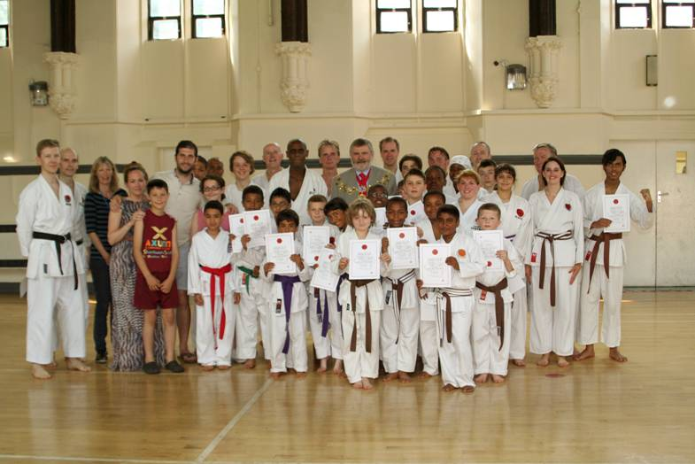 Karate supporting charities in Lewisham