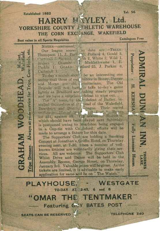 15th Dec 1923 Trinity v Bradford Northern centre right