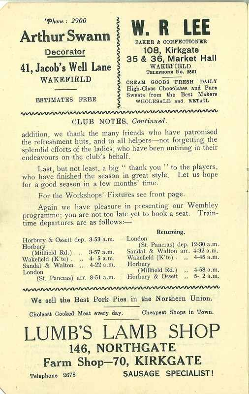 4th May 1938 Wakefield v Newcastle page 4