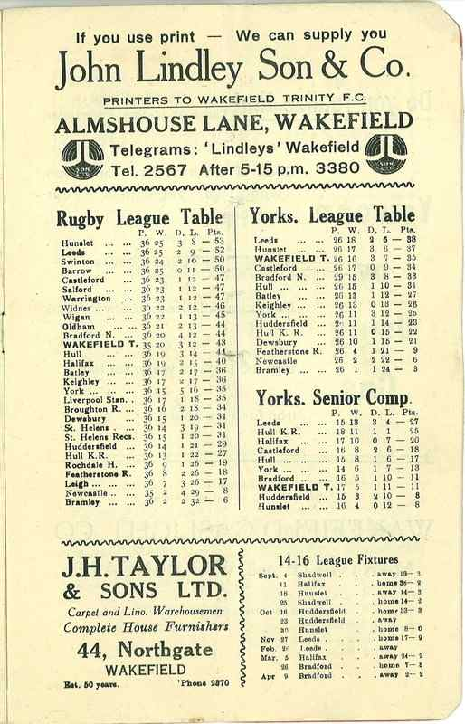 4th May 1938 Wakefield v Newcastle page 9