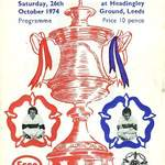 1974 Yorkshire Cup Final