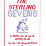 1984-85 Sevens at Belle Vue