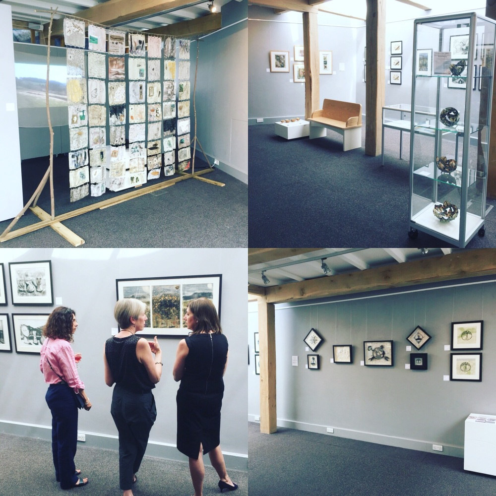 Hidden Landscape group exhibition at Inspired by Gallery, Danby 2018