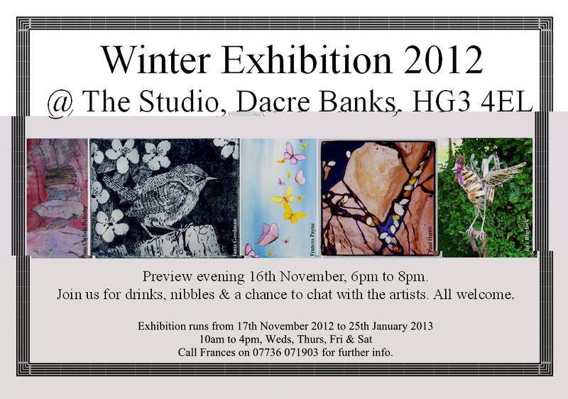 Winter Exhib @ The Studio