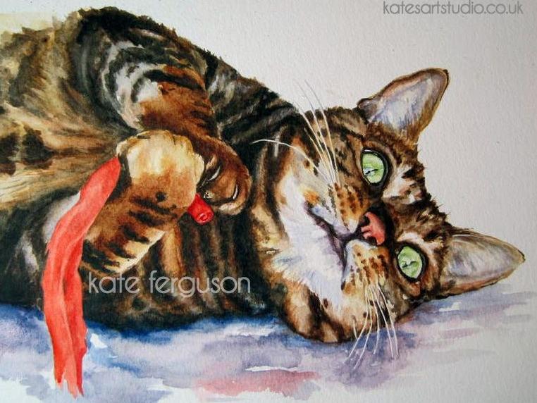 Watercolour portrait - Alfie