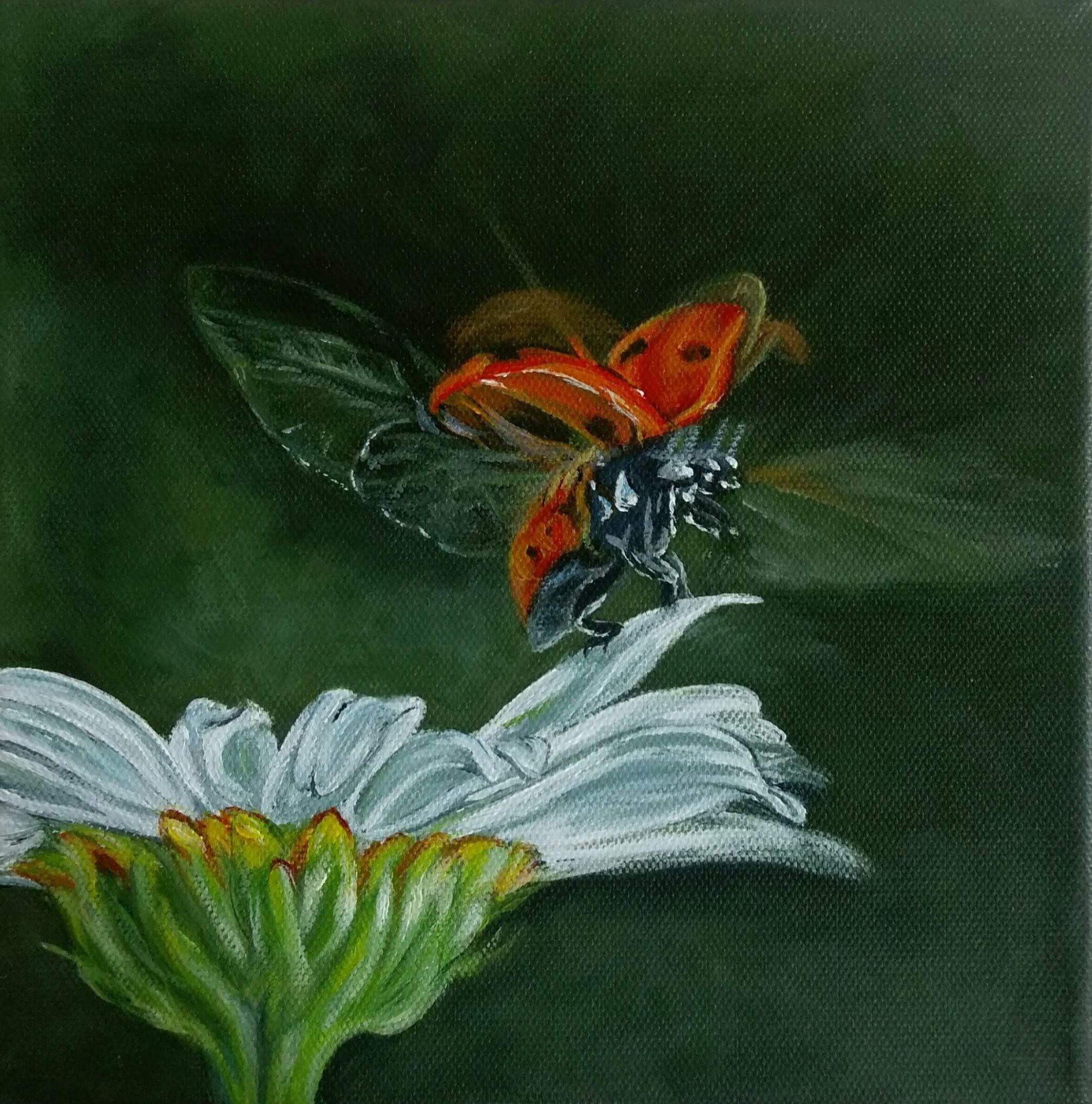 Acrylics painting