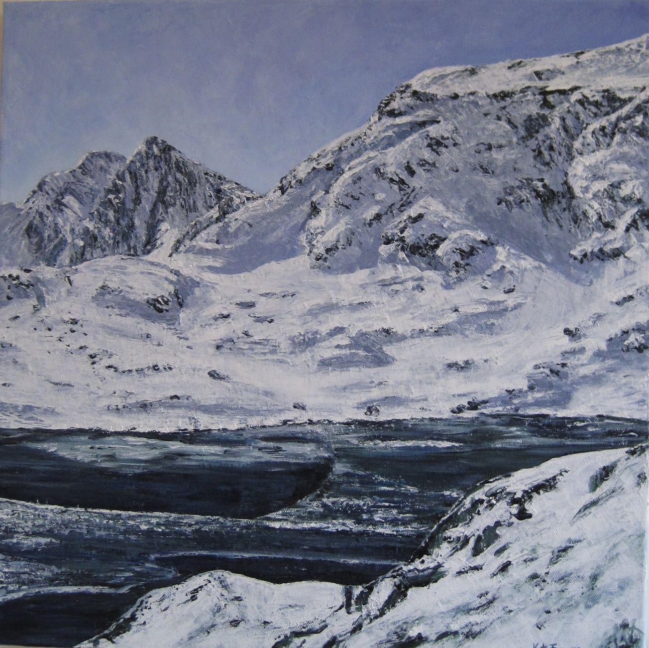 Snowdonia scene - Acrylics