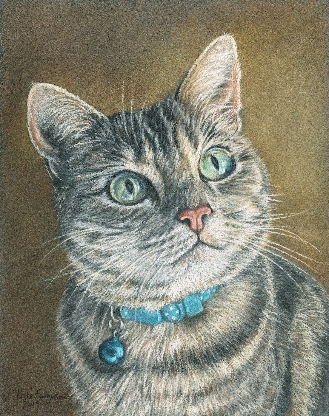 Narla - coloured pencil commission