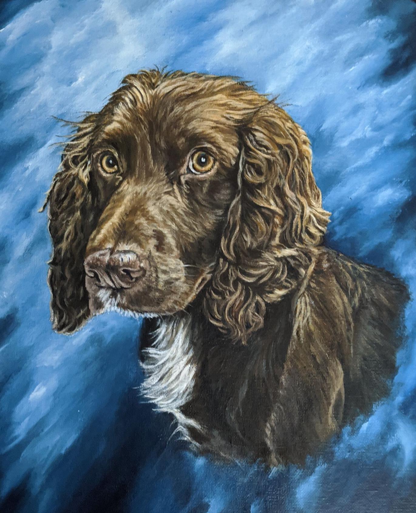 Acrylics portrait