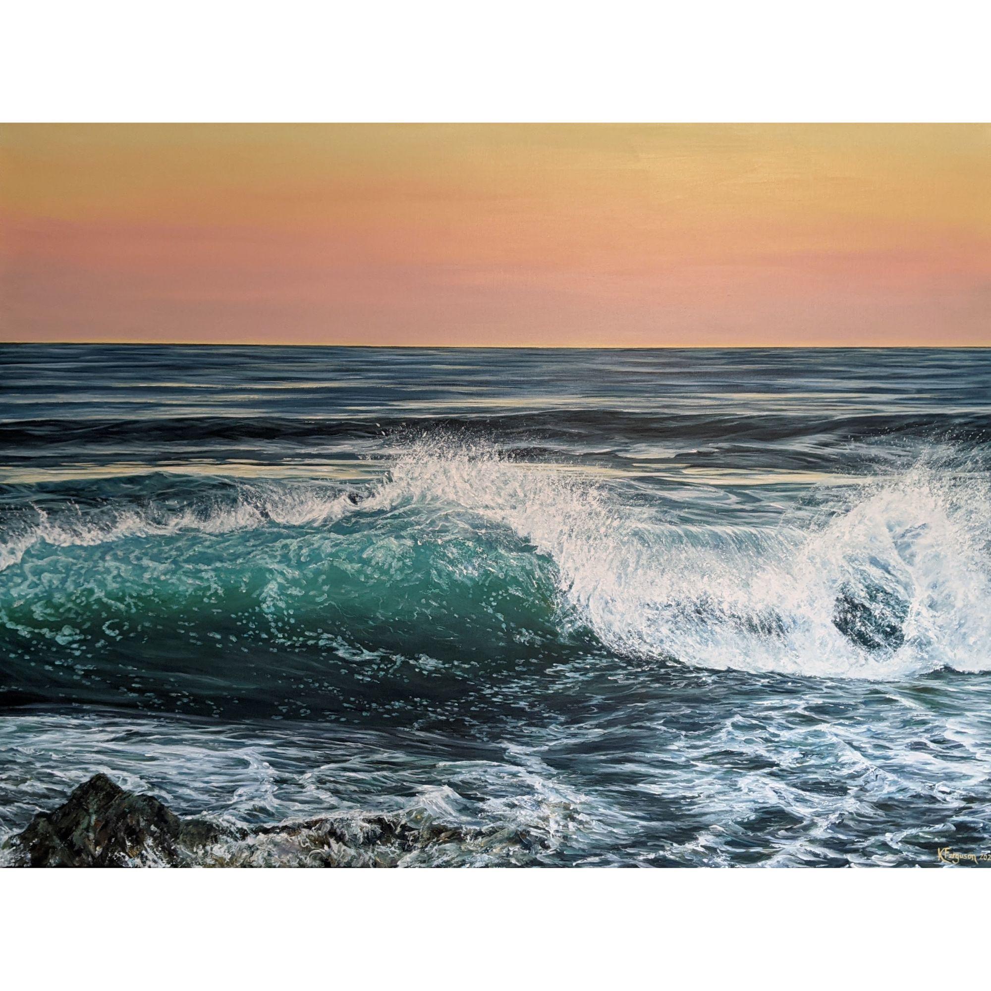 Wave at Daybreak #2