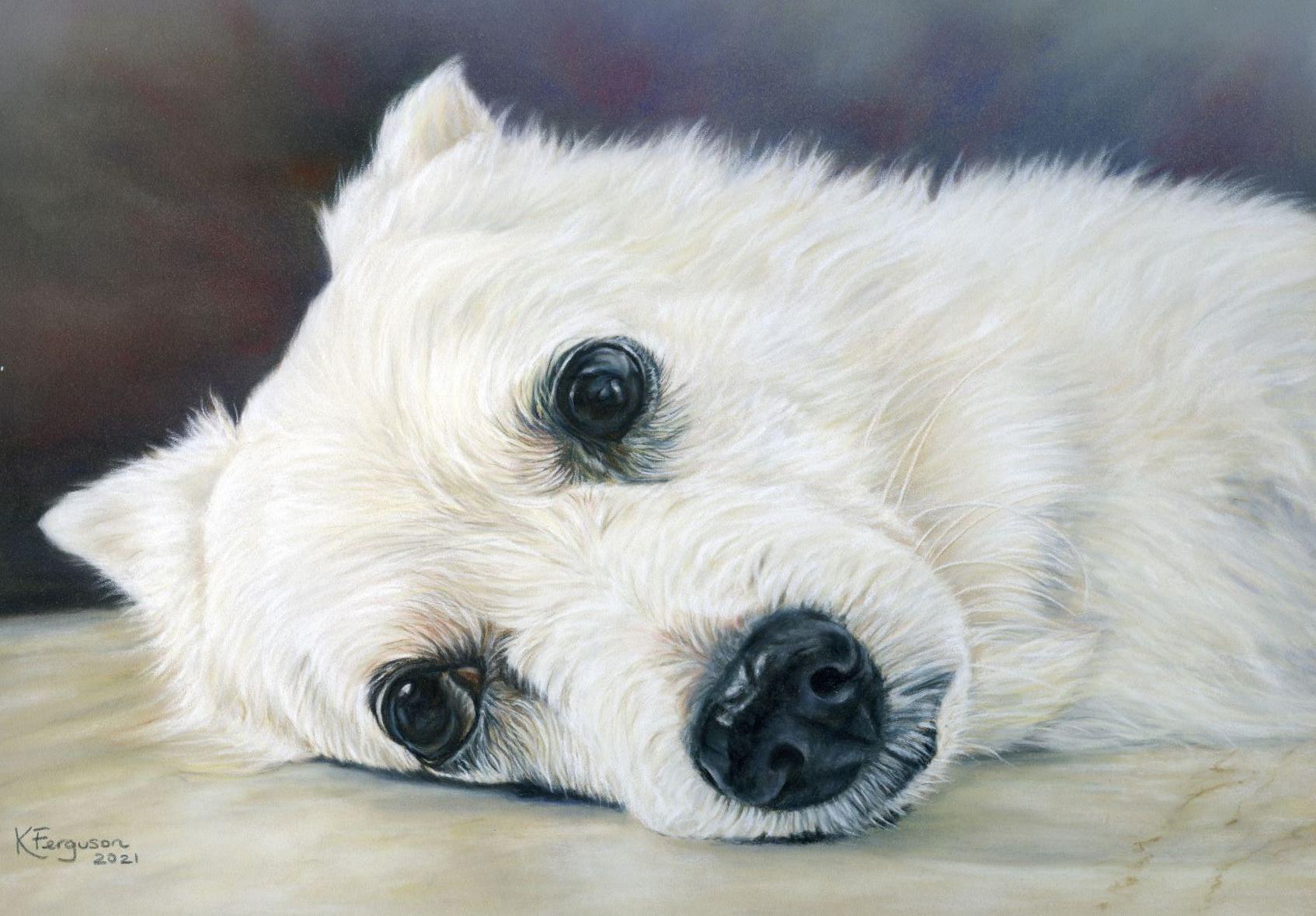 Pastels portrait