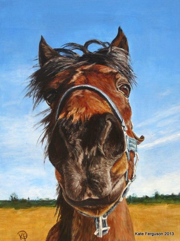 Horse - acrylics