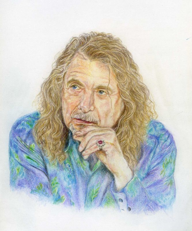 Robert - coloured pencil drawing