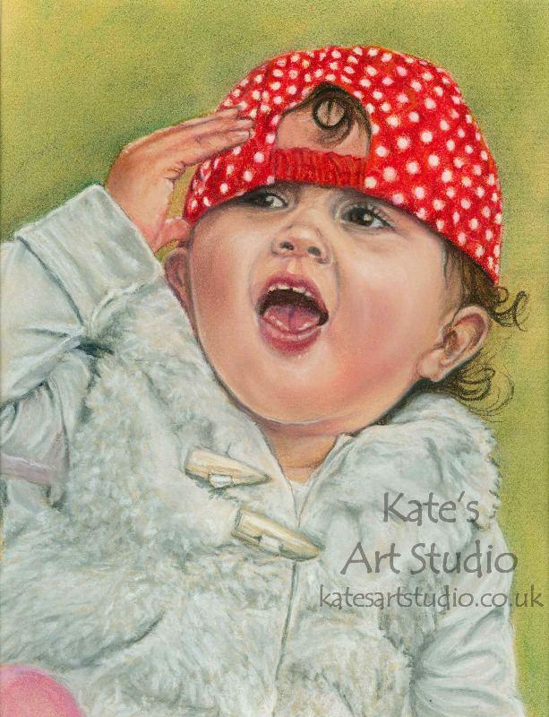 Esme - pastels portrait