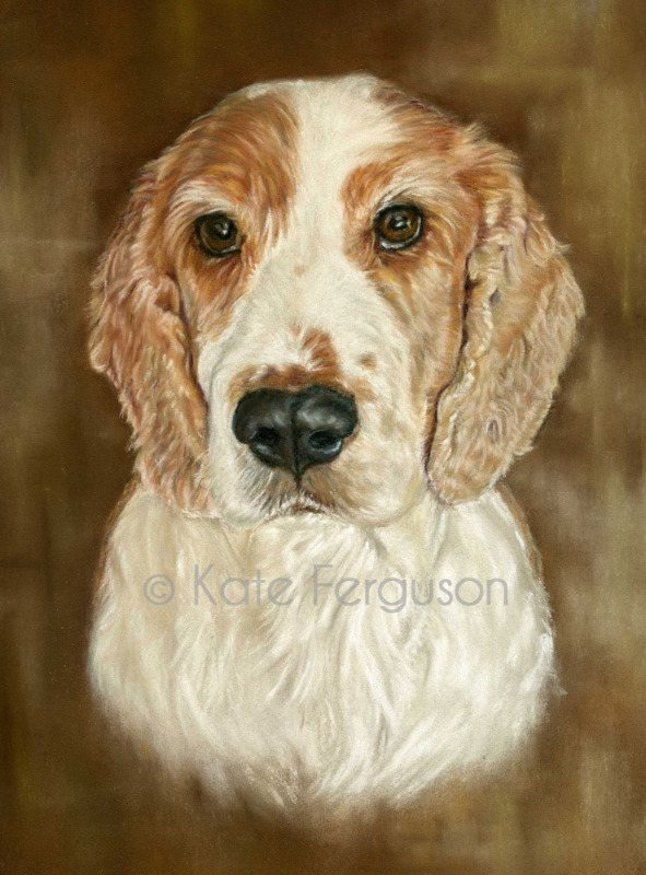 Pastels commission - Marley