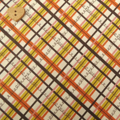 Kokka Fabric ~ Lighthearted ~ Plaid