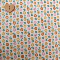 Robert Kaufman Fabrics ~ Penny's Dollshouse ~ Flowers in a row