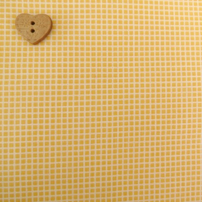 Robert Kaufman Fabrics ~ Penny's Dollshouse ~ Squares in Screamin' Yellow