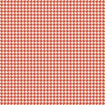 Penny Rose Fabrics ~ Hope Chest ~ Houndstooth Red