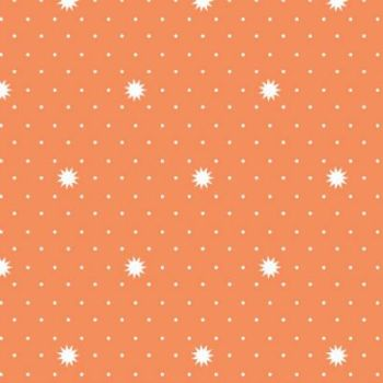 Riley Blake Fabric ~ Lula Magnolia ~ Lula Night Orange