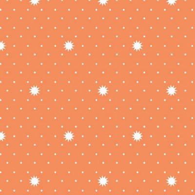 Riley Blake Fabric ~ Lula Magnolia ~ Lula Night Orange