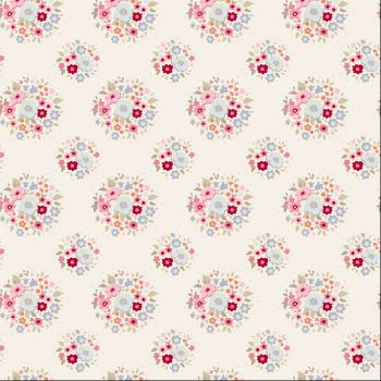 Tilda Fabric ~ Thula Red Pink