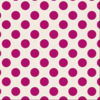 Tilda Fabric ~ Sewn Spot Carmine Red