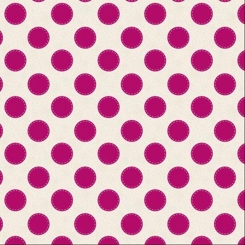 Tilda Fabric ~ Sewn Spot Carmine Red COMING SOON!