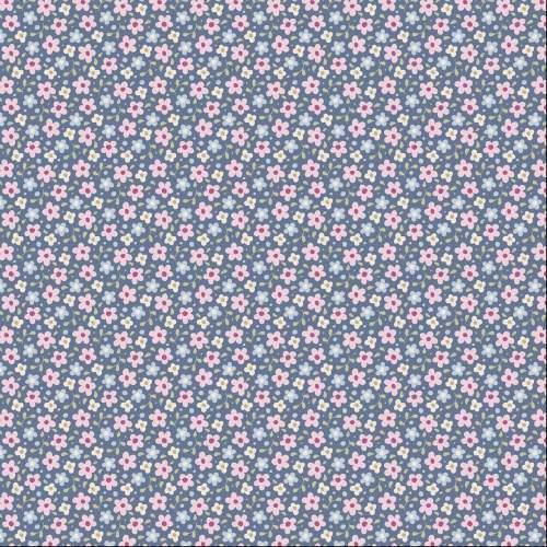 Tilda Fabric ~ Celia Slate Blue COMING SOON!