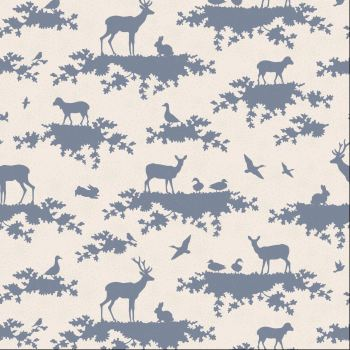 Tilda Fabric ~ Forest Slate Blue