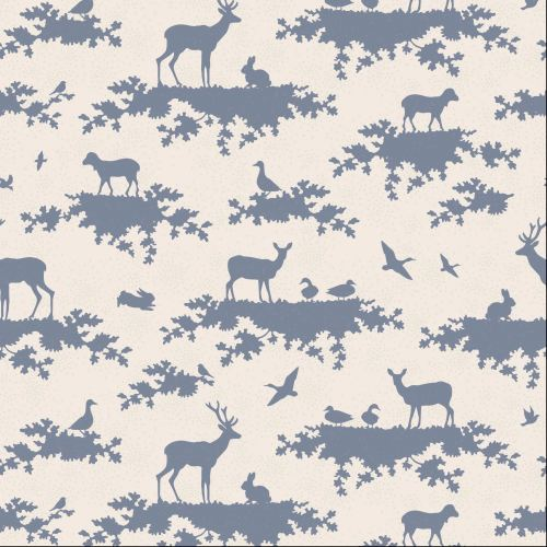 Tilda Fabric ~ Forest Slate Blue COMING SOON!