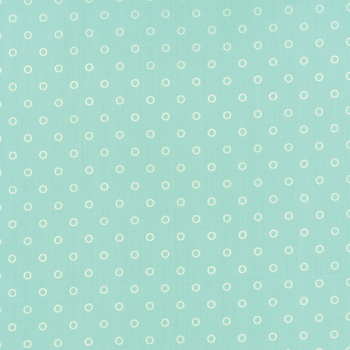 Moda Fabrics ~ Hello Darling ~ Lollies Aqua and Cream