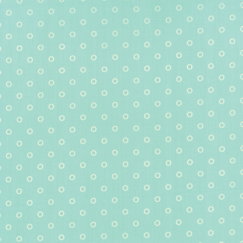 Moda Fabrics ~ Hello Darling ~ Lollies Aqua and Cream