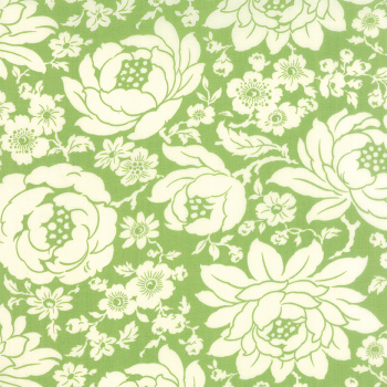 Moda Fabrics ~ Hello Darling ~ Mum Green