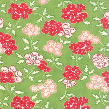 Moda Fabrics ~ Hello Darling ~ Picnic Green