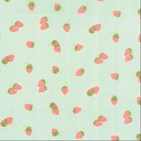 Moda Fabrics ~ Hello Darling ~ Strawberries Aqua
