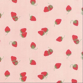 Moda Fabrics ~ Hello Darling ~ Strawberries Coral