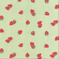 Moda Fabrics ~ Hello Darling ~ Strawberries Green