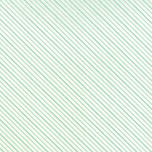 Moda Fabrics ~ Hello Darling ~ Summer Stripe Aqua
