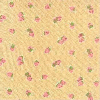 Moda Fabrics ~ Hello Darling ~ Strawberries Orange
