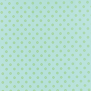 Moda Fabrics ~ Hello Darling ~ Lollies Aqua and Green