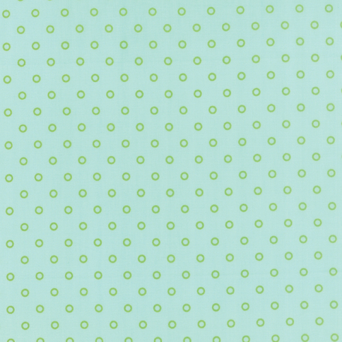 Moda Fabrics ~ Hello Darling ~ Lollies Aqua and Green