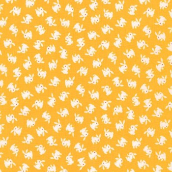 Robert Kaufman Fabrics ~ Naptime 2 ~ Bunnies Screamin' Yellow