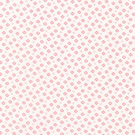 Robert Kaufman Fabrics ~ Naptime 2 ~ Dottie Flower Camelia