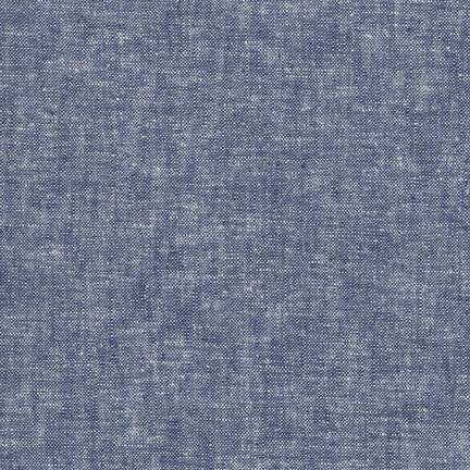 Robert Kaufman Fabrics ~ Essex Yarn Dyed Linen ~ Denim