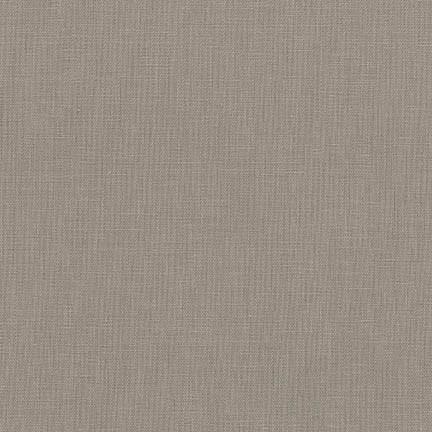 Robert Kaufman Fabrics ~ Essex Linen ~ Pewter