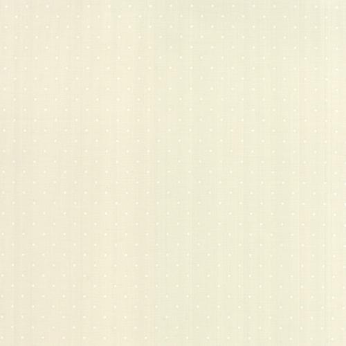 Moda Fabrics ~ Modern Background Paper ~ Pin Dot in White and Eggshell