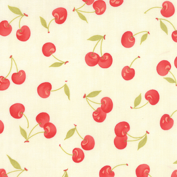Moda Fabrics ~ Farmhouse ~ Cherries Milk