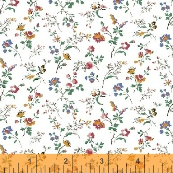 Windham Fabrics ~ Modern Country ~ Spray Flowers