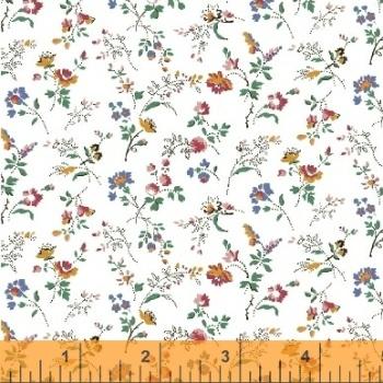 Windham Fabrics ~ Modern Country ~ Spray Flowers